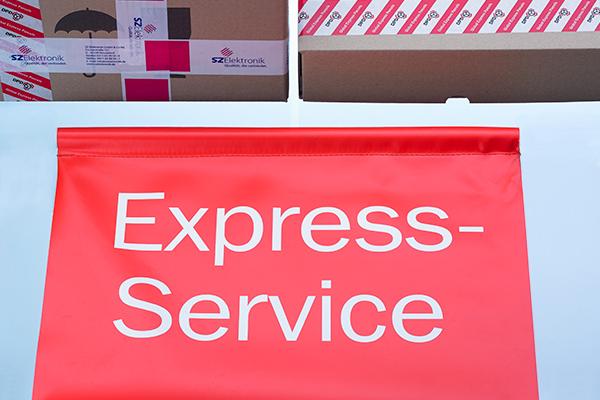 Express Service blau neu